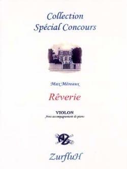 Max Méreaux - Reverie - Violin - Sheet Music - di-arezzo.com