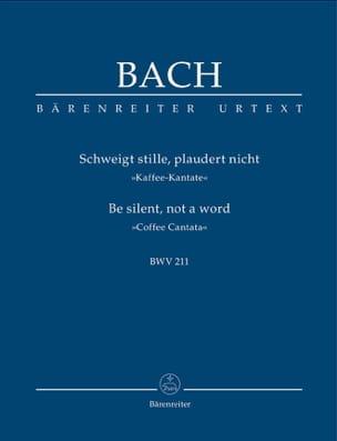 Johann Sebastian Bach - Cantate Du Café BWV 211 - Partition - di-arezzo.fr