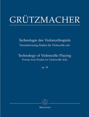 Friedrich Grützmacher - 24 Opus Studies 38 - Sheet Music - di-arezzo.co.uk