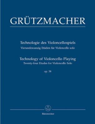 24 Etudes Opus 38 - Friedrich Grützmacher - laflutedepan.com