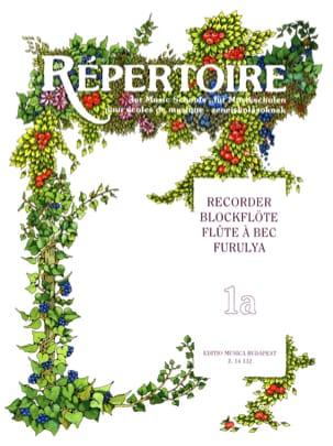 Janos Bali - Repertoire for Music Schools Recorder- 1A - Partition - di-arezzo.fr