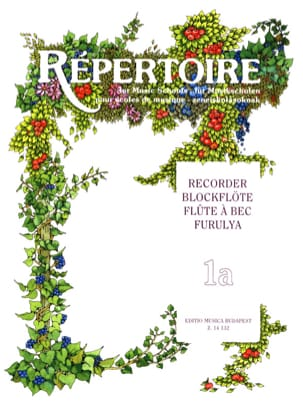 Repertoire for Music Schools Recorder- 1A Janos Bali laflutedepan