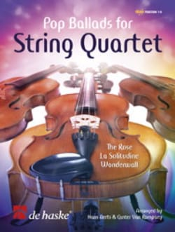Pop Ballads for String Quartet –Score + Parts - laflutedepan.com