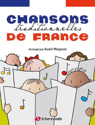 André Waignein - Chansons traditionnelles de France - Violon - Partition - di-arezzo.fr