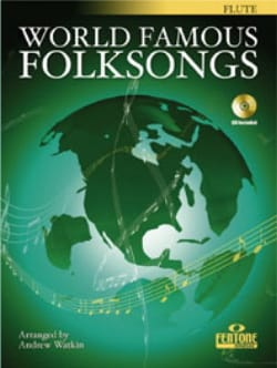 Andrew Watkin - World Famous Folksong – Flute - Partition - di-arezzo.fr