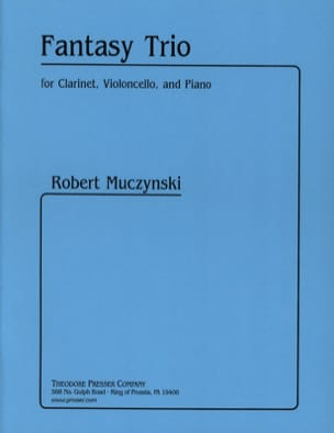 Robert Muczynski - Fantasy Threesome - Sheet Music - di-arezzo.co.uk