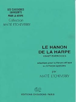 Etcheverry / Hanon - Hanon Of The Harp 20 Exercises - Sheet Music - di-arezzo.co.uk