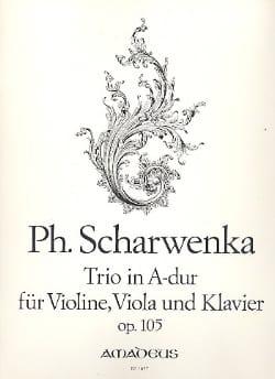 Philipp Scharwenka - Trio A-Dur op. 105 - Violine Viola Klavier - Sheet Music - di-arezzo.com