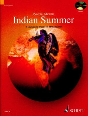 Indian Summer Pyarelal Sharma Partition Quatuors - laflutedepan