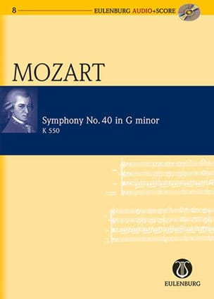 MOZART - Symphony No. 40 In Sol Min. Kv 550 - Sheet Music - di-arezzo.co.uk