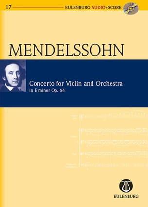 Bartholdy Felix Mendelssohn - Concerto pour violon en mi mineur op. 64 - Partition - di-arezzo.fr