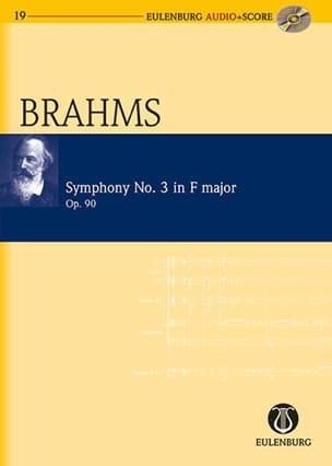Johannes Brahms - Symphonie N° 3 En Fa Majeur Op. 90 - Partition - di-arezzo.fr
