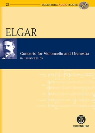 ELGAR - Cello Concerto Op. 85 In E Minor - Sheet Music - di-arezzo.com