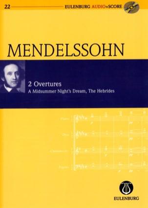 Ouvertures : Songes D'une Nuit D'été Op. 21 et les Hébrides Op.26 - laflutedepan.com