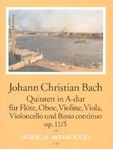 Quintette A-Dur op. 11 n° 5 - Flöte Oboe Violine VIola Cello BC laflutedepan