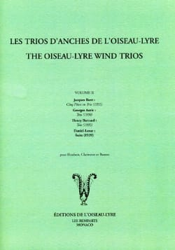 Trios of reeds of the bird-lyre - Volume 2 - Partition - di-arezzo.co.uk