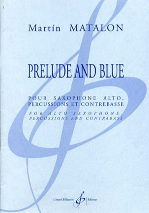 Martin Matalon - Prelude and Blue - Partition - di-arezzo.fr