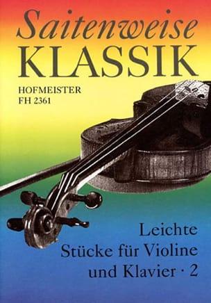 Leichte Stücke Für Violine Und Klavier Volume 2 laflutedepan