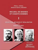 Vidal Paul / Boulanger Nadia - Collection Of Basses And Songs - 1 - Sheet Music - di-arezzo.co.uk