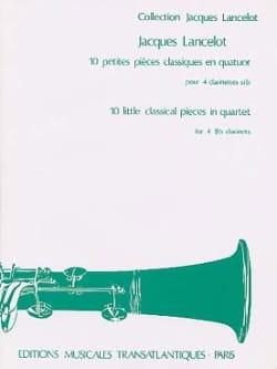 Jacques Lancelot - 10 Petites Pièces Classiques - Partition - di-arezzo.fr