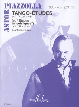 Astor Piazzolla - Tango-Etudes - Flute - Sheet Music - di-arezzo.com