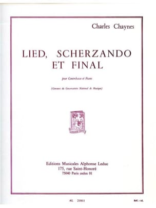 Charles Chaynes - Lied Scherzando and Final - Sheet Music - di-arezzo.com