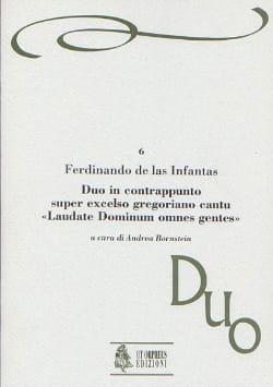 Ferdinando de las Infantas - Duo in contrappunto super excelso gregoriano cantu - Partition - di-arezzo.fr