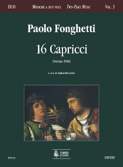 Paolo Fonghetti - 16 Capricci - Sheet Music - di-arezzo.com
