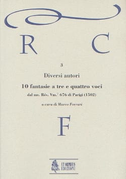 - 10 Fantasias to be e quattro voci - Sheet Music - di-arezzo.co.uk