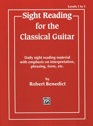 Robert Benedict - Sight reading for the classical guitar - Sheet Music - di-arezzo.com