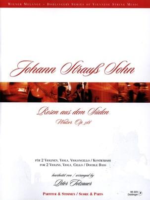 Johann (Fils) Strauss - Rosen aus dem Süden - 2 Vln Va Vc / Kb - Partitur Stimmen - Sheet Music - di-arezzo.co.uk