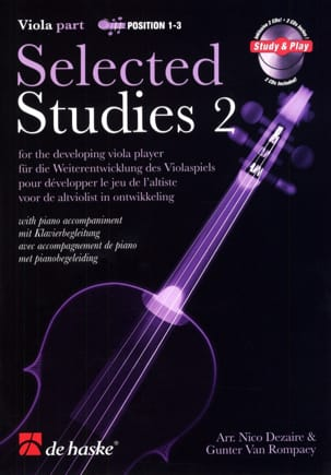 Dezaire Nico / Van Rompaey Gunter - Selected Studies Volume 2 - Alto - Partition - di-arezzo.fr