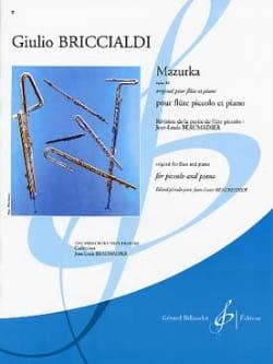 Giulio Briccialdi - Mazurka op. 88 - Piccolo piano - Partition - di-arezzo.fr