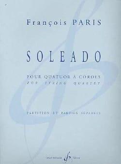 Soleado - partition et parties - François Paris - laflutedepan.com