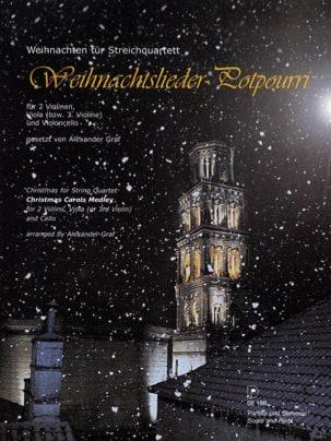 Graf Alexander - Weihnachtslieder-Potpourri - Partitur Stimmen - Sheet Music - di-arezzo.co.uk