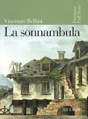 La Sonnambula BELLINI Partition Grand format - laflutedepan