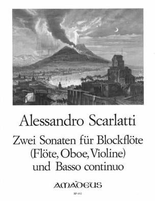 Alessandro Scarlatti - 2 Sonaten für Blockflöte und B.C. - Partition - di-arezzo.fr