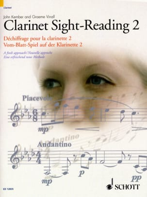 Kember John / Vinall Graeme - Clarinet Sight-Reading - 2 - Sheet Music - di-arezzo.co.uk