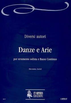 - Danze e Arie - Partition - di-arezzo.fr