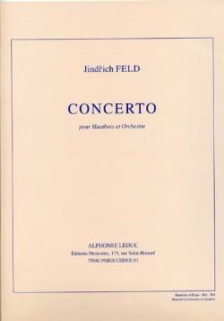 Concerto pour hautbois - Jindrich Feld - Partition - laflutedepan.com