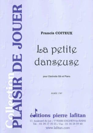 La petite danseuse - Francis Coiteux - Partition - laflutedepan.com