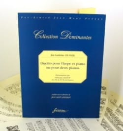 Duetto pour harpe et piano ou 2 pianos, opus 26 - laflutedepan.com