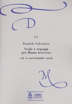 Daniel Salvatore - Scale and arpeggi per flauto trav. - Volume 1 - Sheet Music - di-arezzo.com