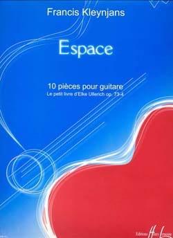 Espace op. 73-4 Francis Kleynjans Partition Guitare - laflutedepan