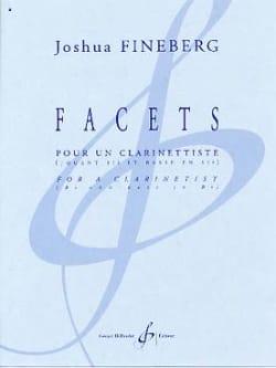 Joshua Fineberg - Facets - Partition - di-arezzo.fr