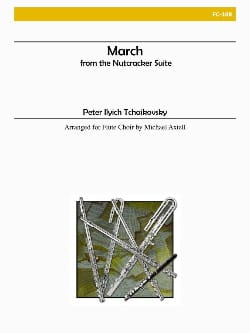 TCHAIKOVSKY - March from The Nutcracker Suite - Flute Choir - Sheet Music - di-arezzo.com