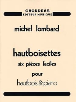 Michel Lombard - Oboes - 6 Easy Pieces - Sheet Music - di-arezzo.co.uk