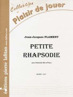 Petite Rhapsodie Jean-Jacques Flament Partition laflutedepan