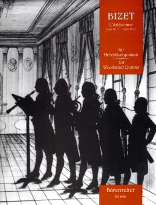 Georges Bizet - L'Arlésienne - Suite n° 1 –Holzbläserquintett - Partitur + Stimmen - Partition - di-arezzo.fr