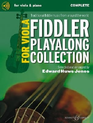 The Fiddler Playalong Viola Collection Jones Edward Huws laflutedepan
